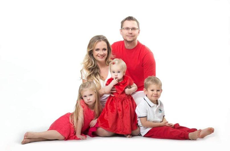 Lucie juskuv s rodinou